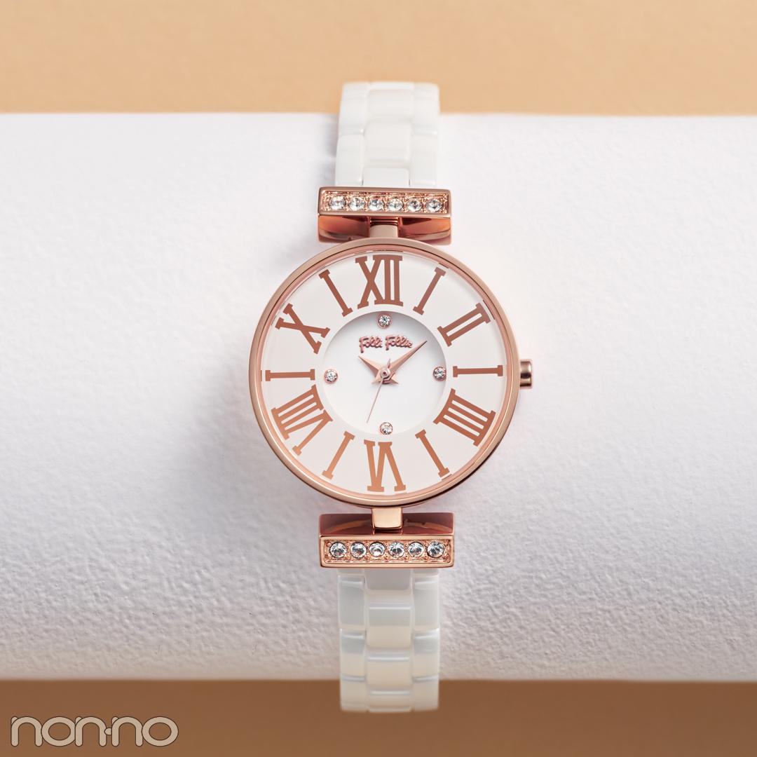 可愛いままで大人♡ のクリスマスプレゼントならフォリフォリのフェミニン腕時計_1_1