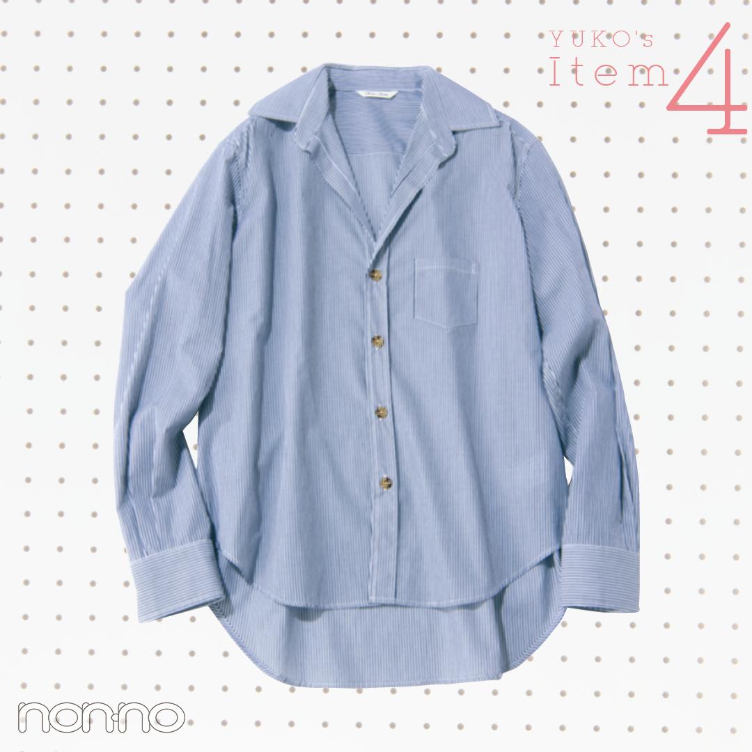 新木優子がストライプシャツを今→春着倒し!【着回しコーデ】_1_3