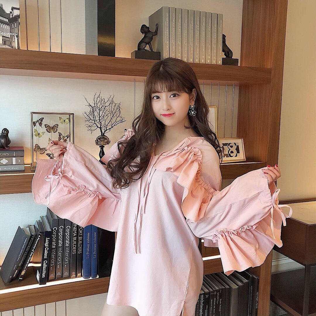 【韓国通販】Sweemy closet の春服コーデ 5選︎❤︎︎_1_4