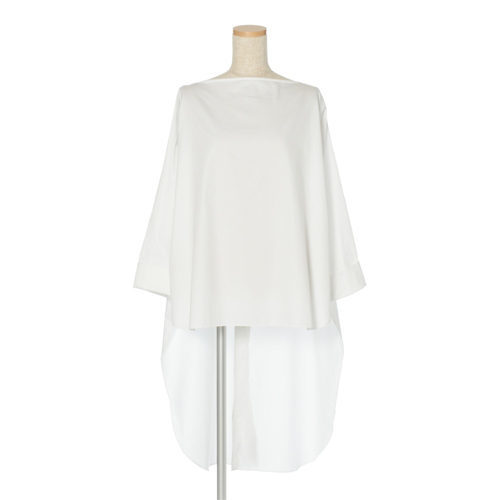 robelite & CO. コットンサテン3WAYシャツ ¥39,000+税