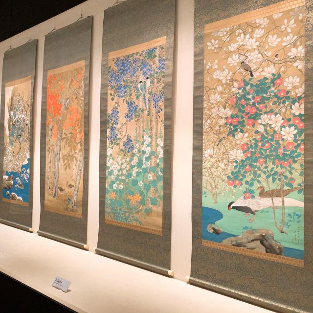 【美術館めぐり】広尾の山種美術館で日本画のアジサイ_1_2