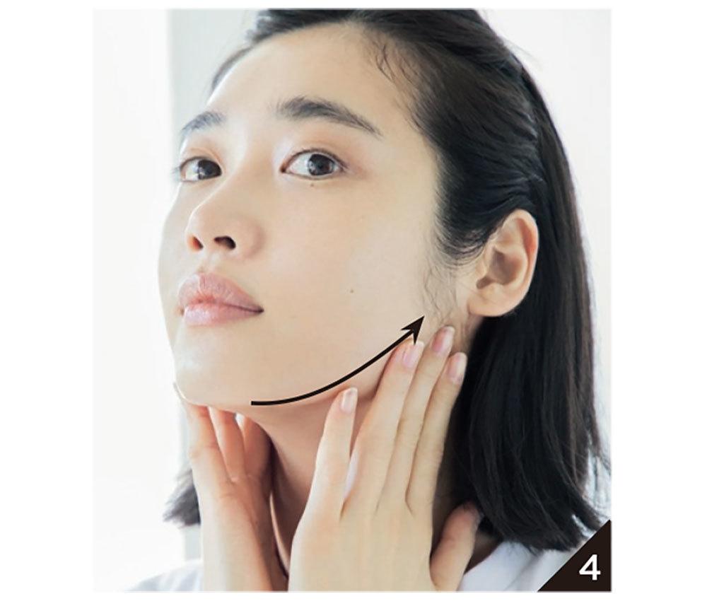 〝角質ケア効果アリ、の朝洗顔で、崩れの原因、肌表面の凹凸を除去〞4