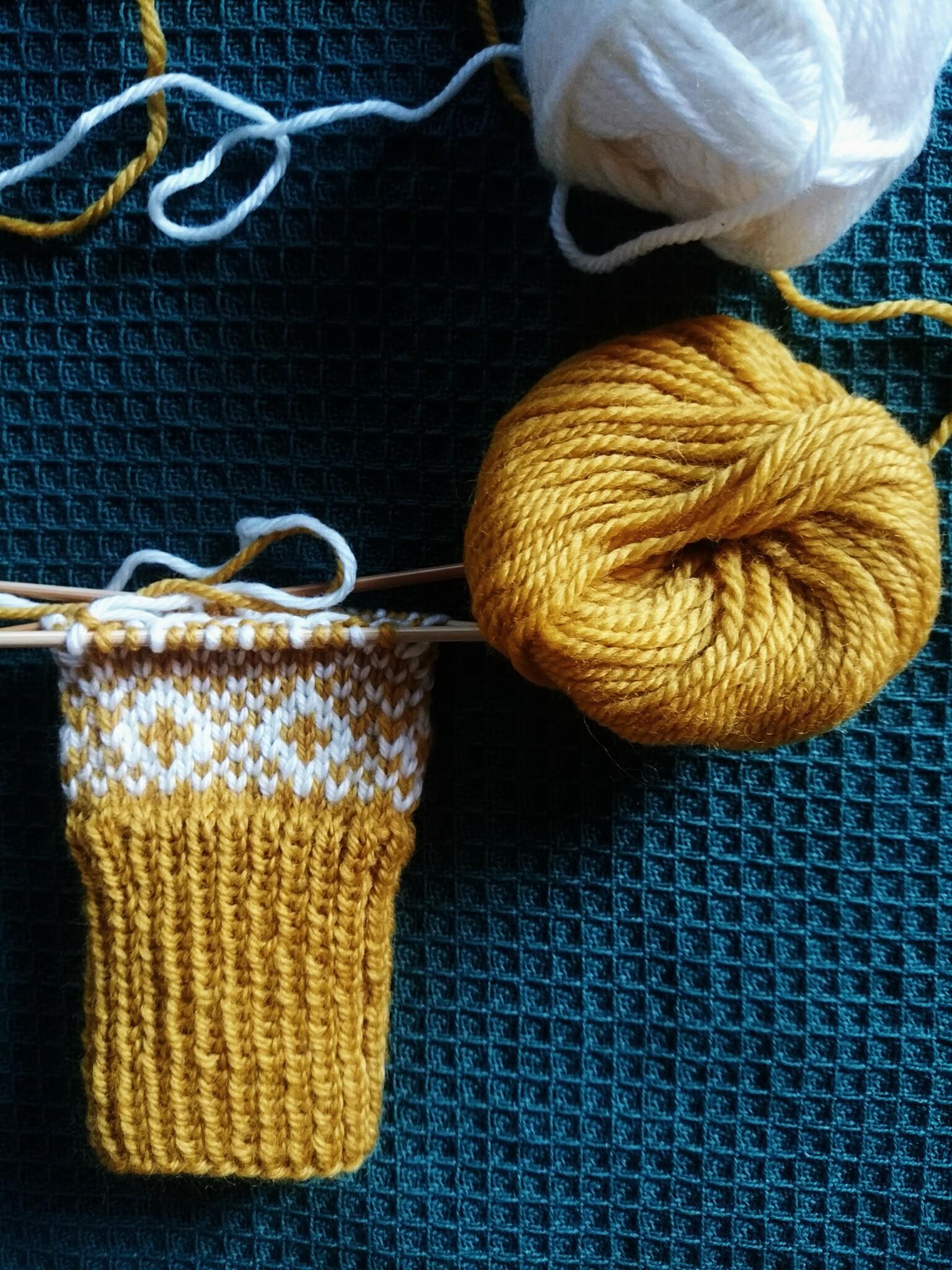 今年も編み物始めました。_1_3