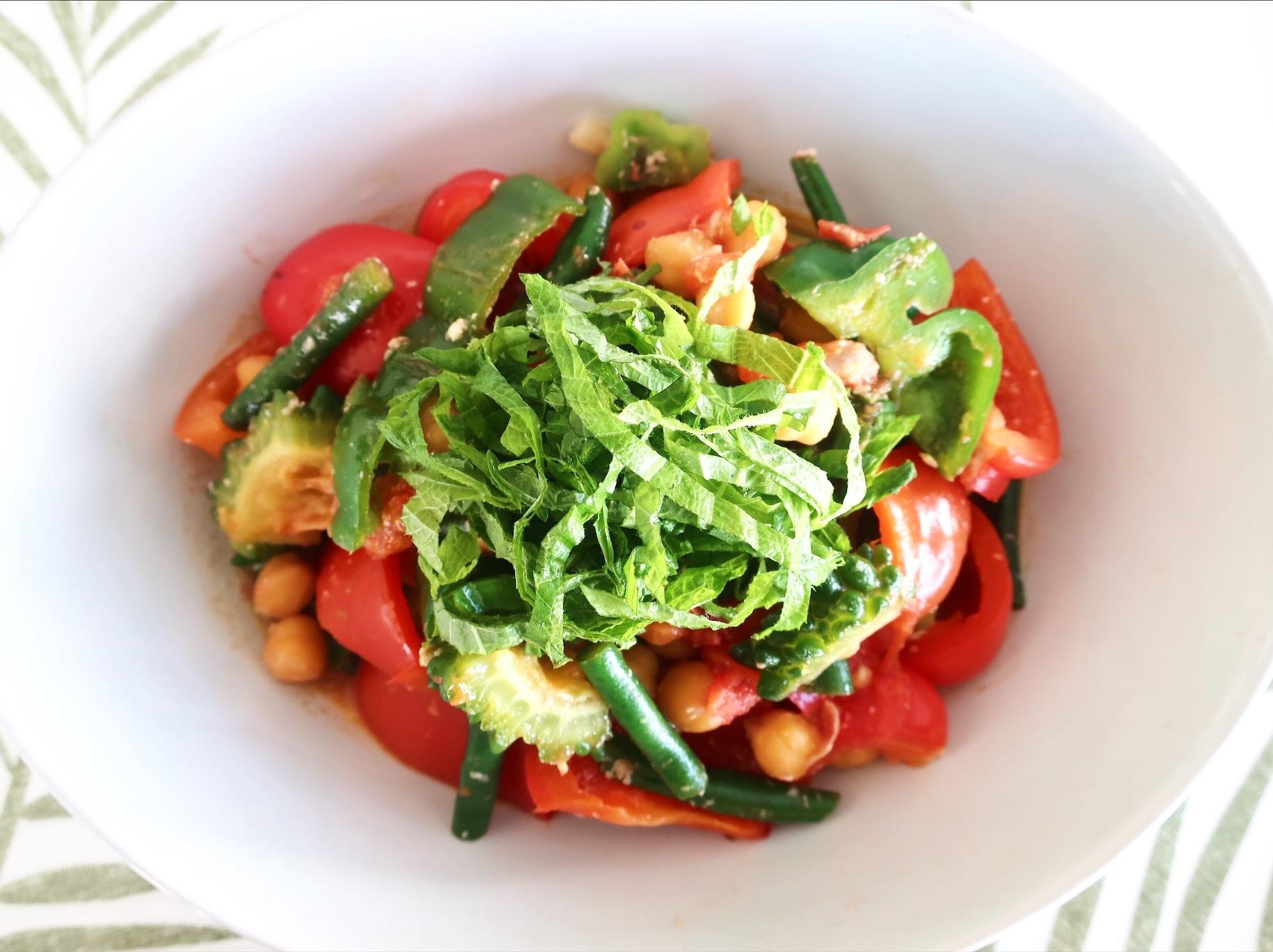 夏野菜たっぷり!カラフルな塩麹ラタトゥユ_1_1