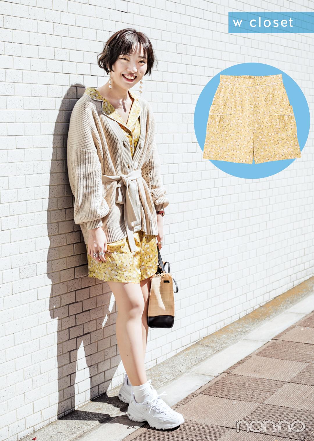 【ショートパンツコーデ】甘め派はこう着る! 人気ブランドショップスタッフがお手本♡ _1_3