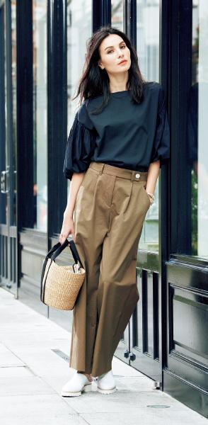 """スタイリスト・池田奈加子流 ヨーロッパ流の女らしさを表現した""""大人のチノパンツ着こなし術""""_1_1-2"""