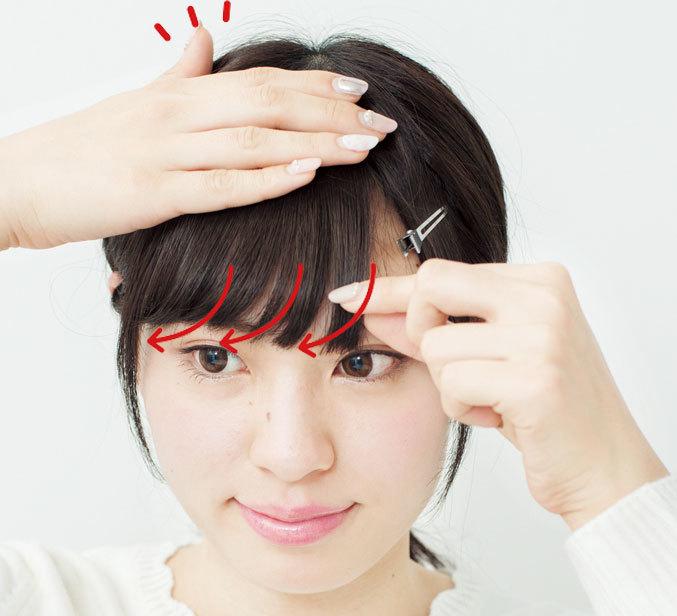 図解でよーくわかる! 小顔も叶う「アイドル前髪」の作り方_3_2