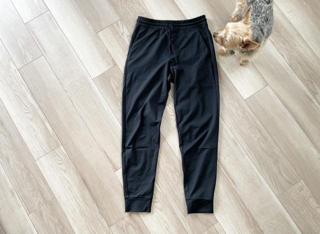 ウルトラストレッチ アクティブジョガーパンツ  ブラック ※メンズ ¥1,990