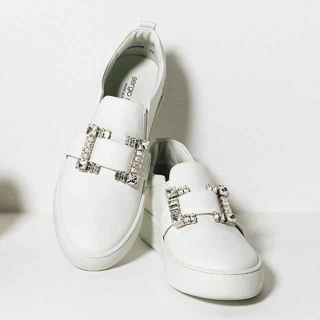 靴¥126,500(セルジオ ロッシ)/ドゥロワー 六本木店