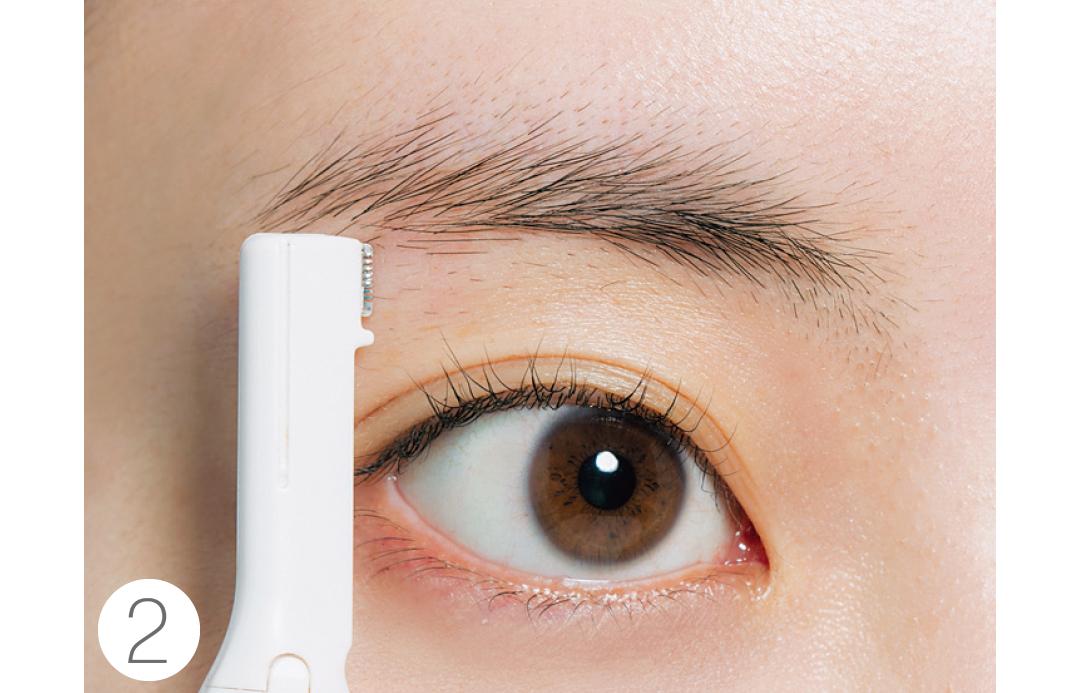 眉が左右非対称が悩み★超ていねい図解で、正しい眉メイクがわかる!_1_5-2