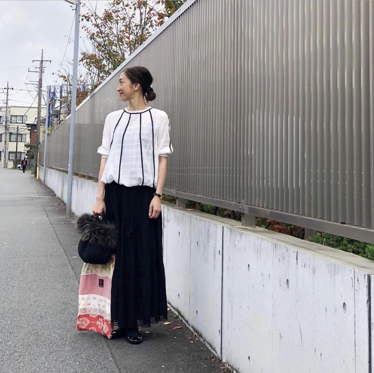 白黒コーデ3つ★☆★_1_7