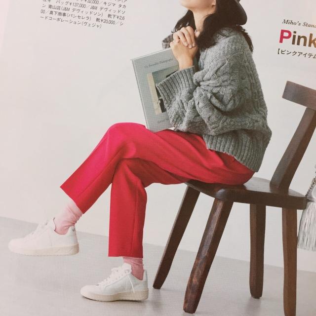 大人の白スニーカー更新☆VEJA【momoko_fashion】_1_2-3