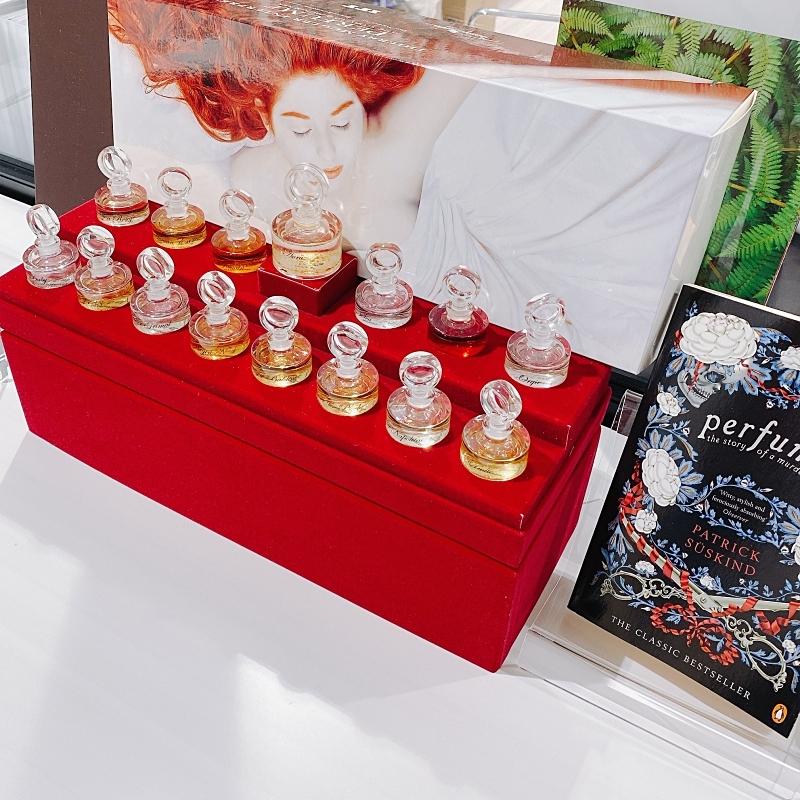 べレアラボのチーフ調香師のクリストフ・ロダミエル氏が手がけた「パフューム ある人殺しの物語」の香水