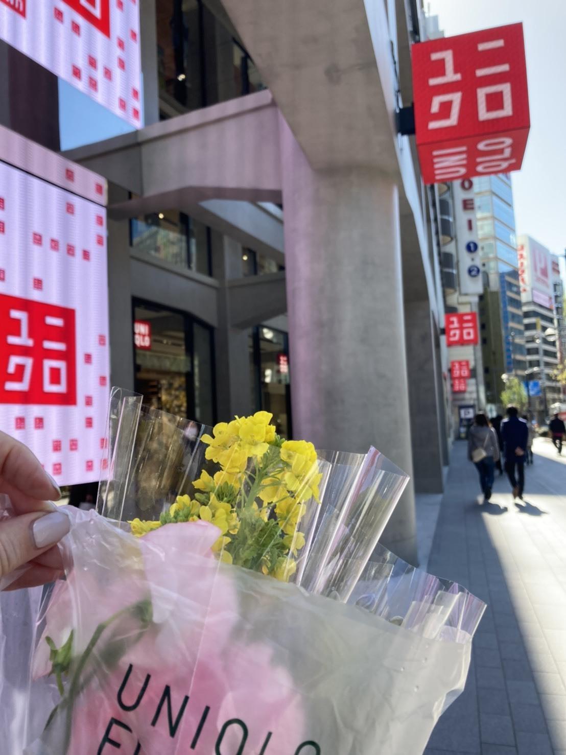 ユニクロでお花が買える!?_1_2-3
