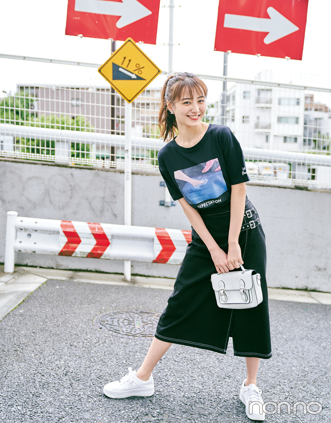 前髪を作っておしゃれ度増し増し♡ 高田里穂の夏私服&メイク _1_2-1