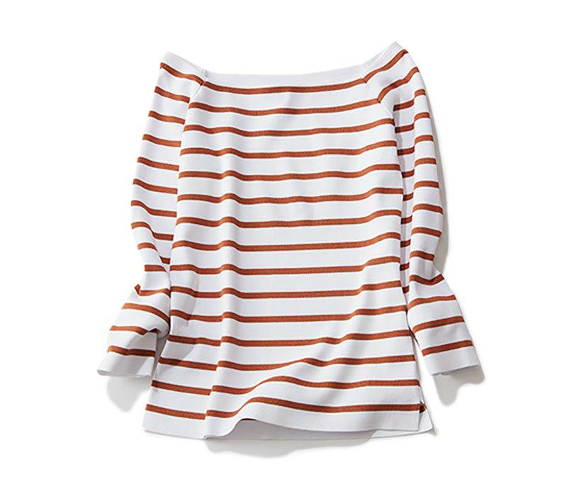 やっぱり大好きなボーダーシャツ!大人に似合う色は?_1_2-2