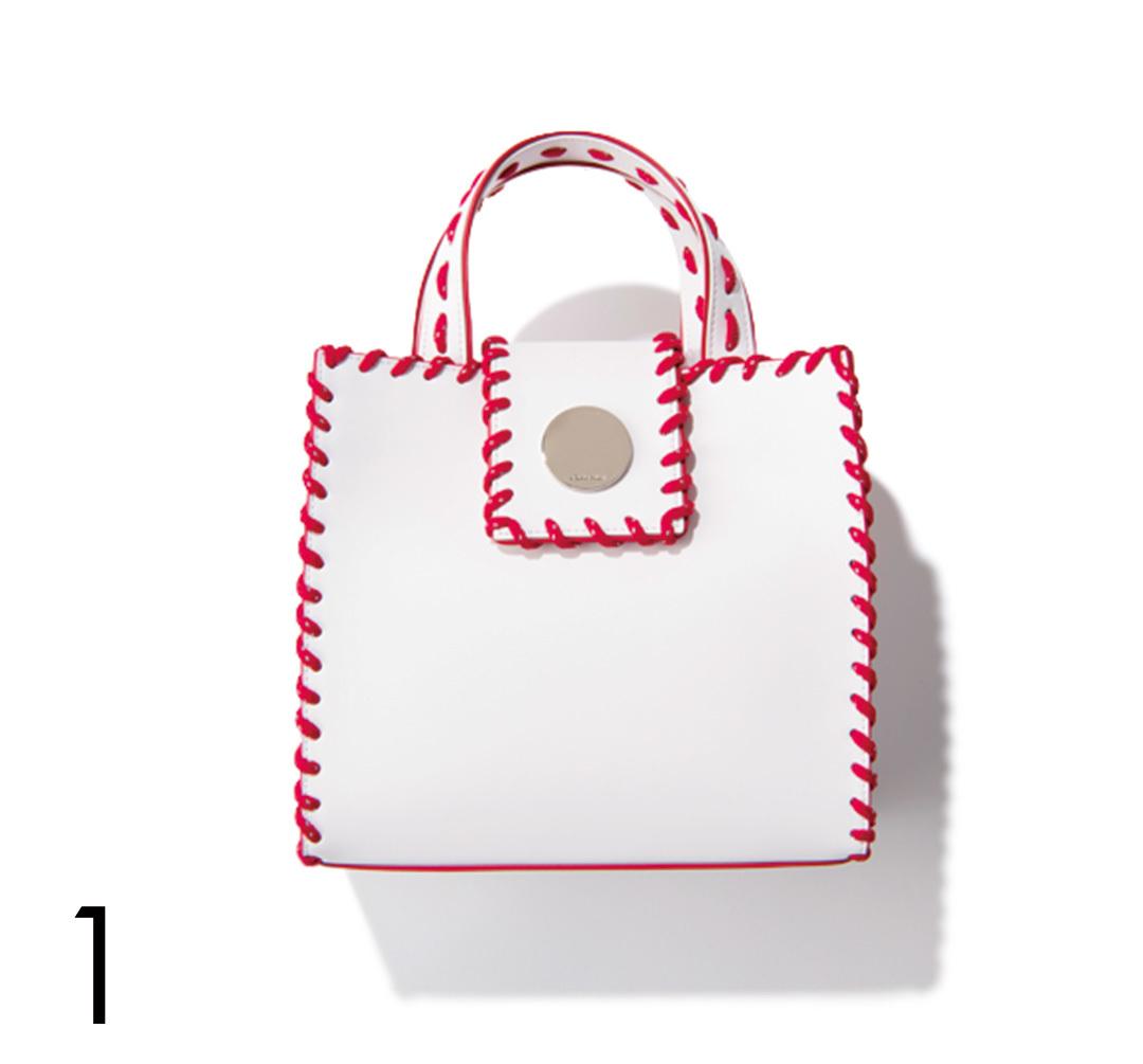 さりげないのに好印象♡ バッグで赤を取り入れる!_1_4-1