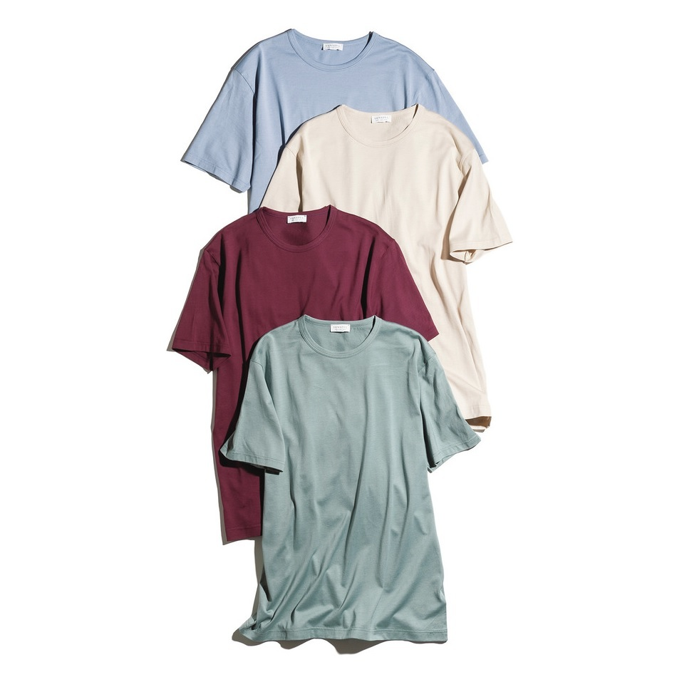 ファッション サンスペルのカラーTシャツ