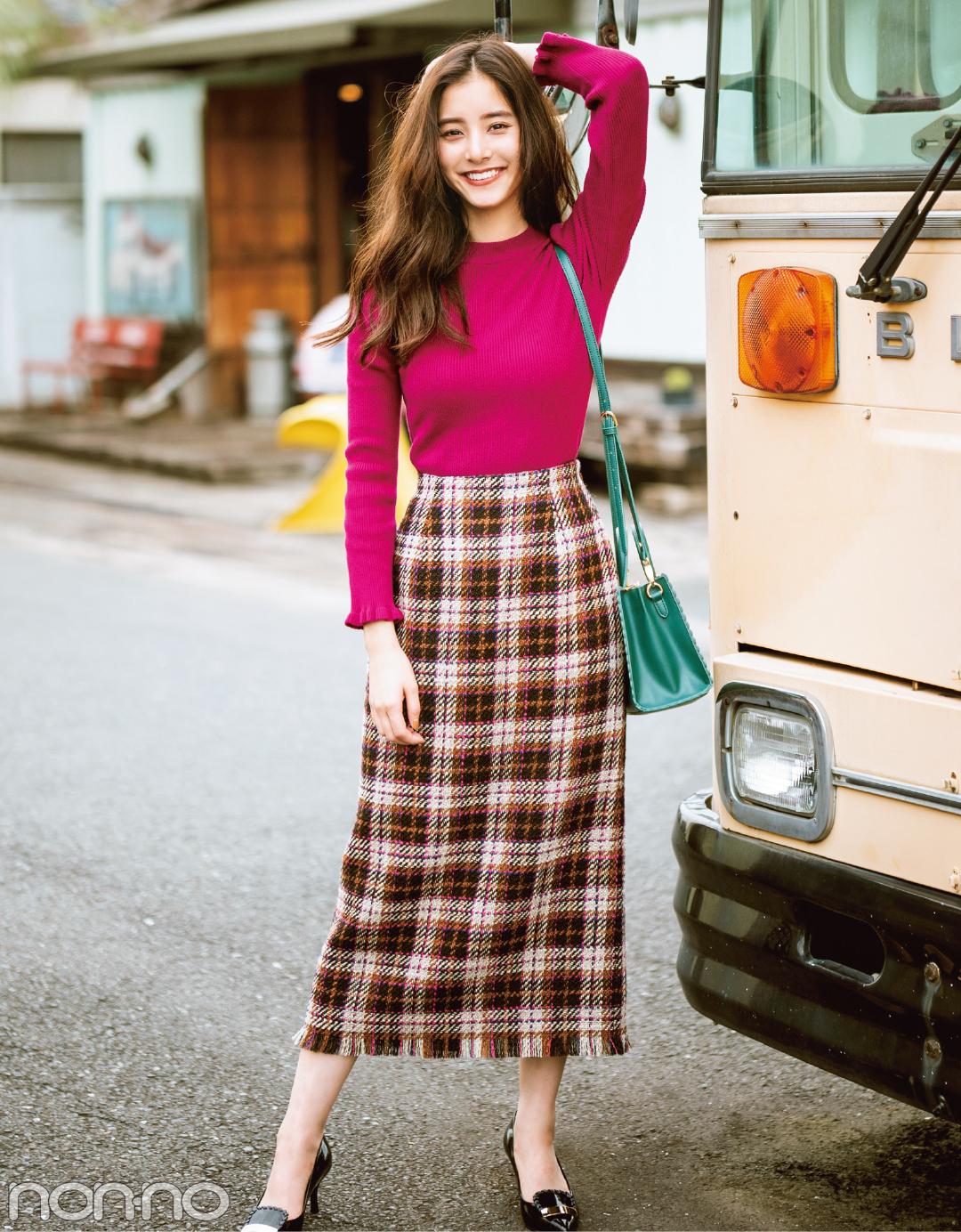 優愛も優子も七瀬も♡ 今すぐ着られる秋服、大本命のチェックアイテムはコレ!_1_5
