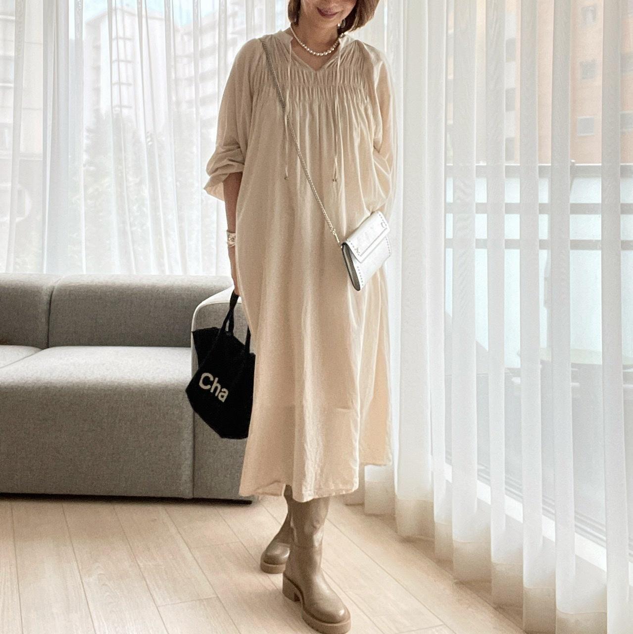 Zaraのブーツ♡ワントーンコーデ_1_4