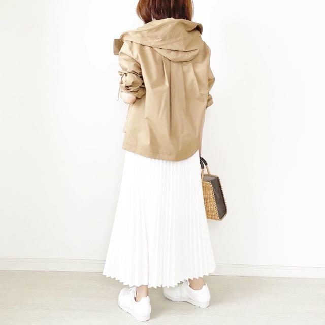 こんなの欲しかった!雨の日に履ける防水白スニーカー【tomomiyuコーデ】_1_10