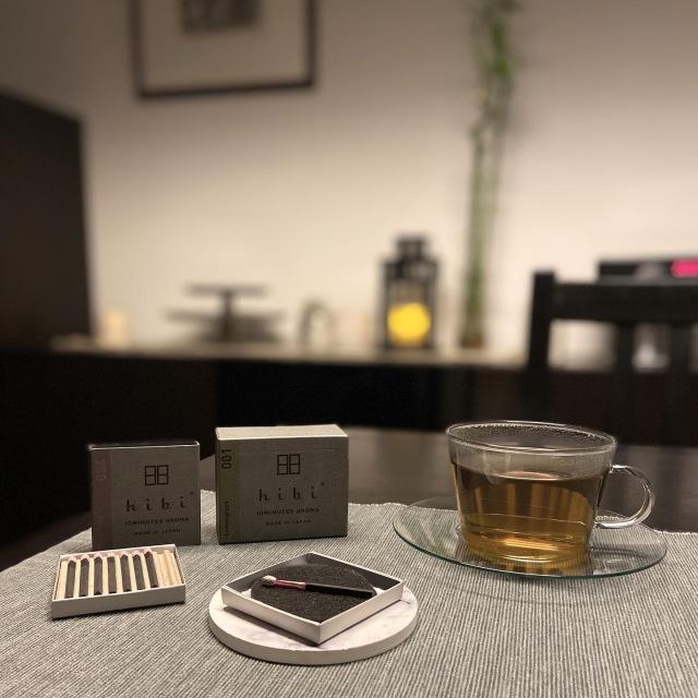マッチ型お香「hibi」と白茶で夜のリラックスタイム_1_7
