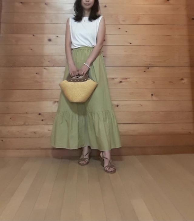 【GU】大人も着られる夏のティアードスカートを発見!_1_4