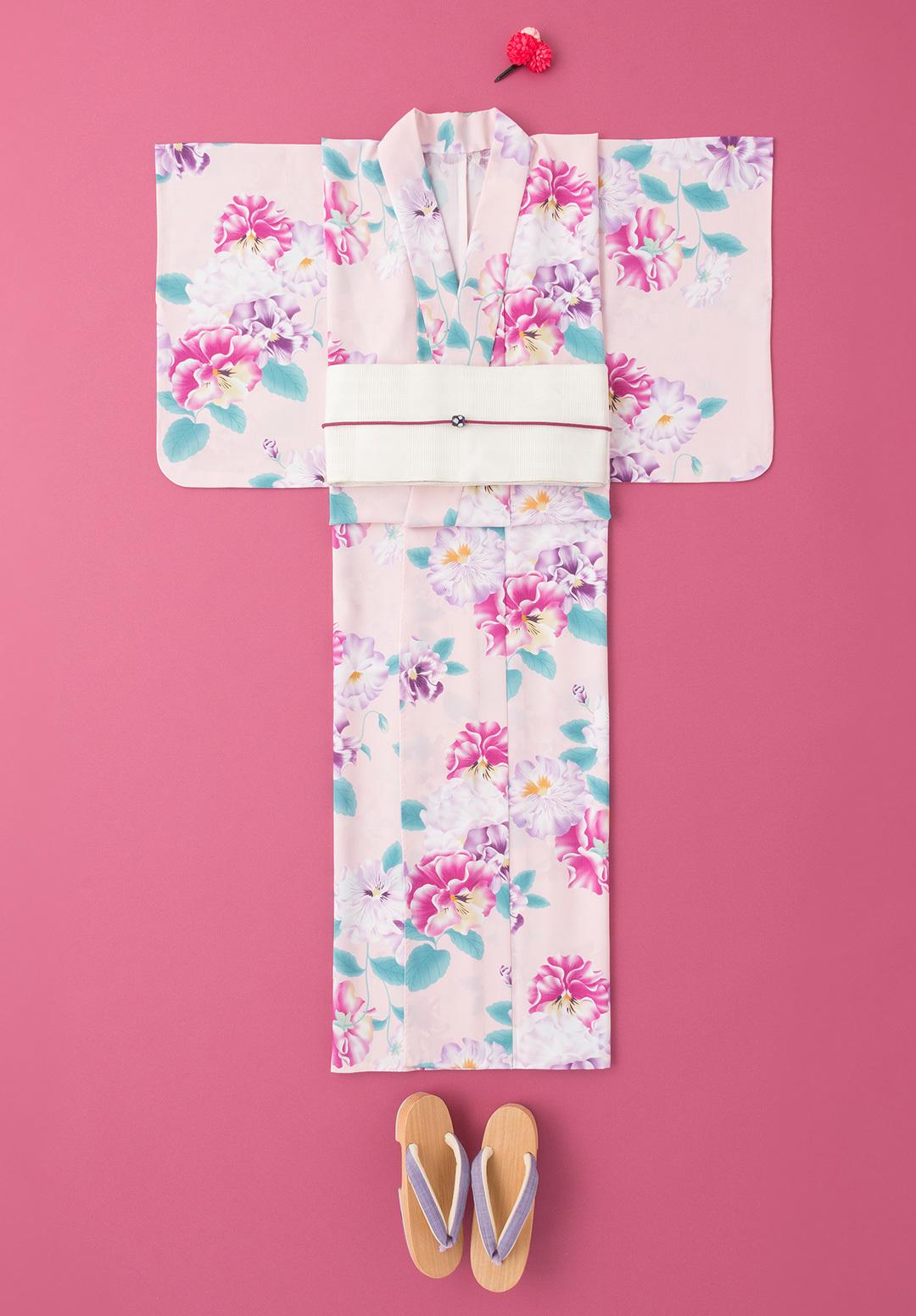 ゆかたと帯のデートコーデなら♡ ピンクとミントで可愛げ清楚な4選!【2019年ゆかた特集】_1_4-1