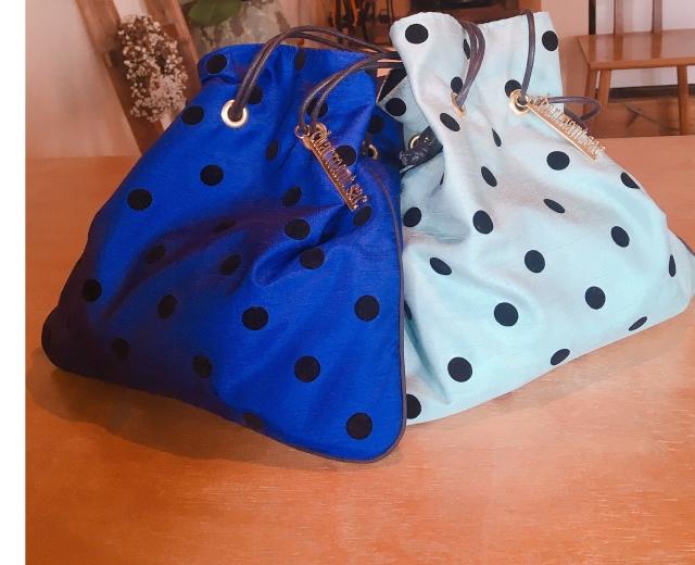再販しては即完売の大人気巾着バッグをゲット♡_1_5
