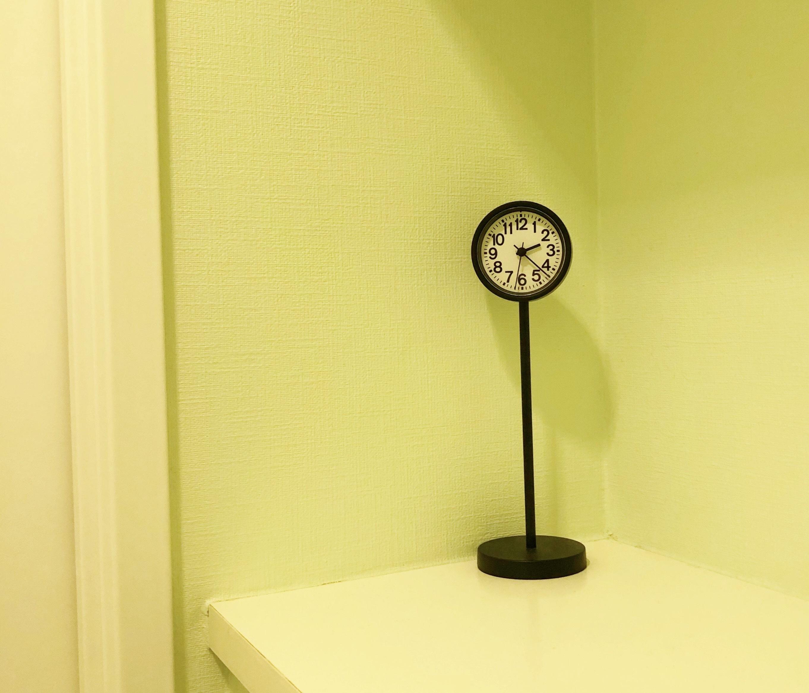 無印の人気商品「公園の時計」
