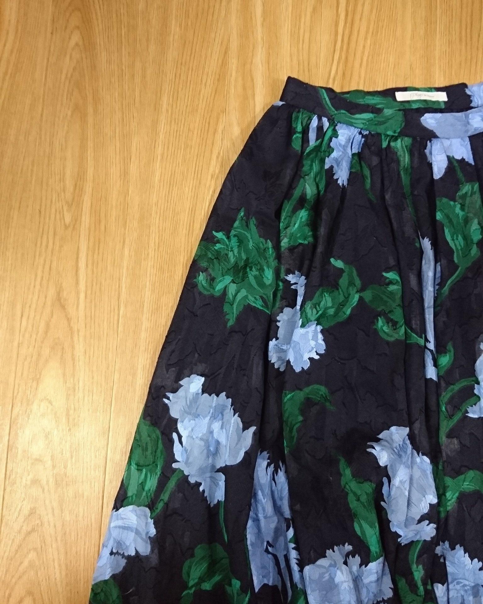 春は花柄スカートが穿きたい❤_1_3