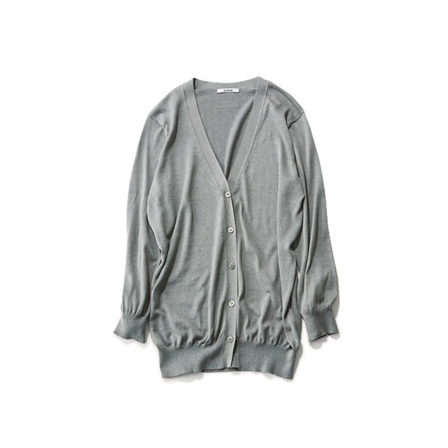 ファッション SLOANEのミドル丈カーディガン