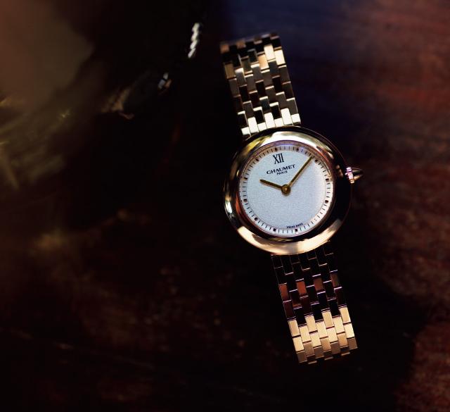 クラシカルな時計のCHAUMETショーメ 「ボレロ」
