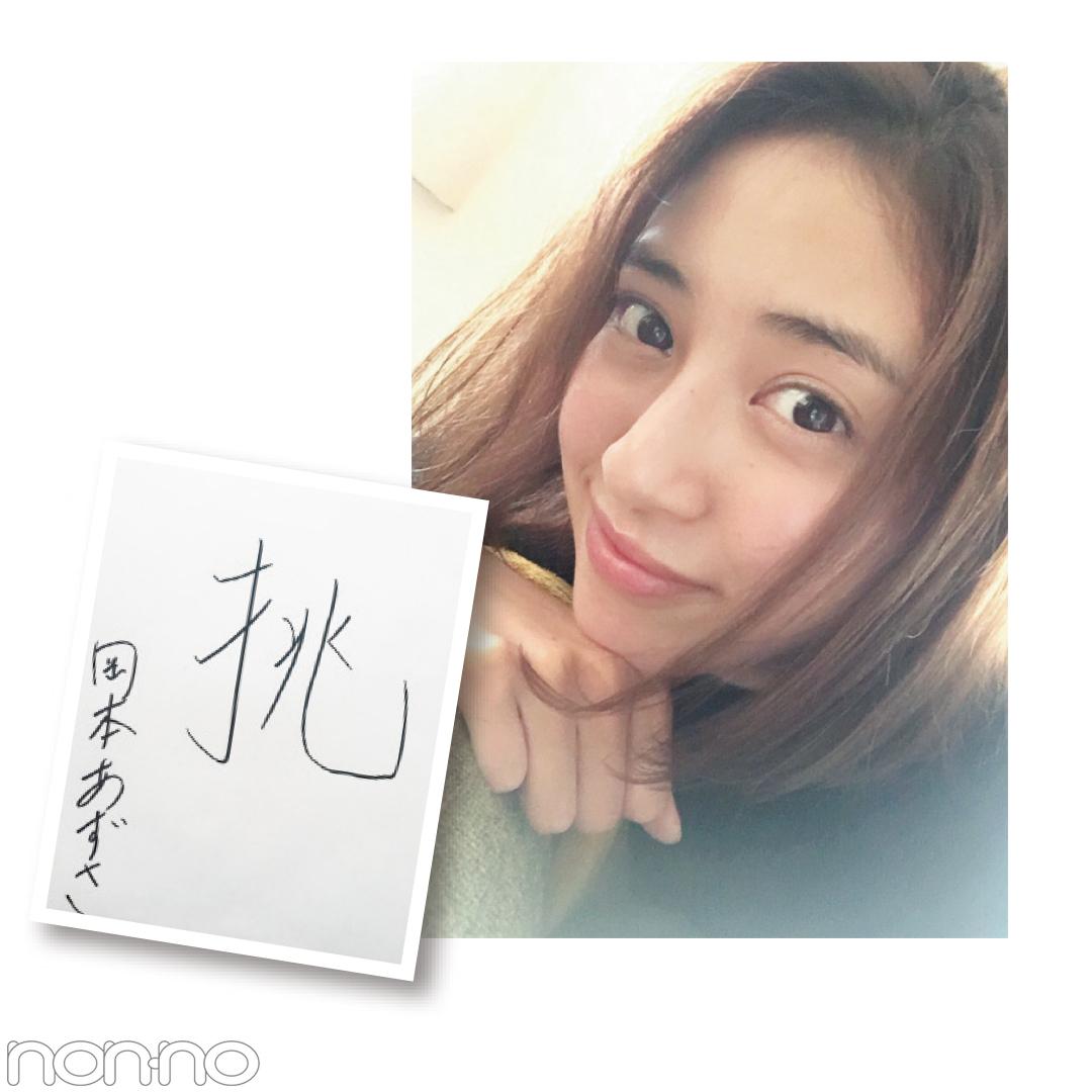 新木優子の2017年の漢字&2018年の抱負★Models' Clipまとめ★④_1_1-3
