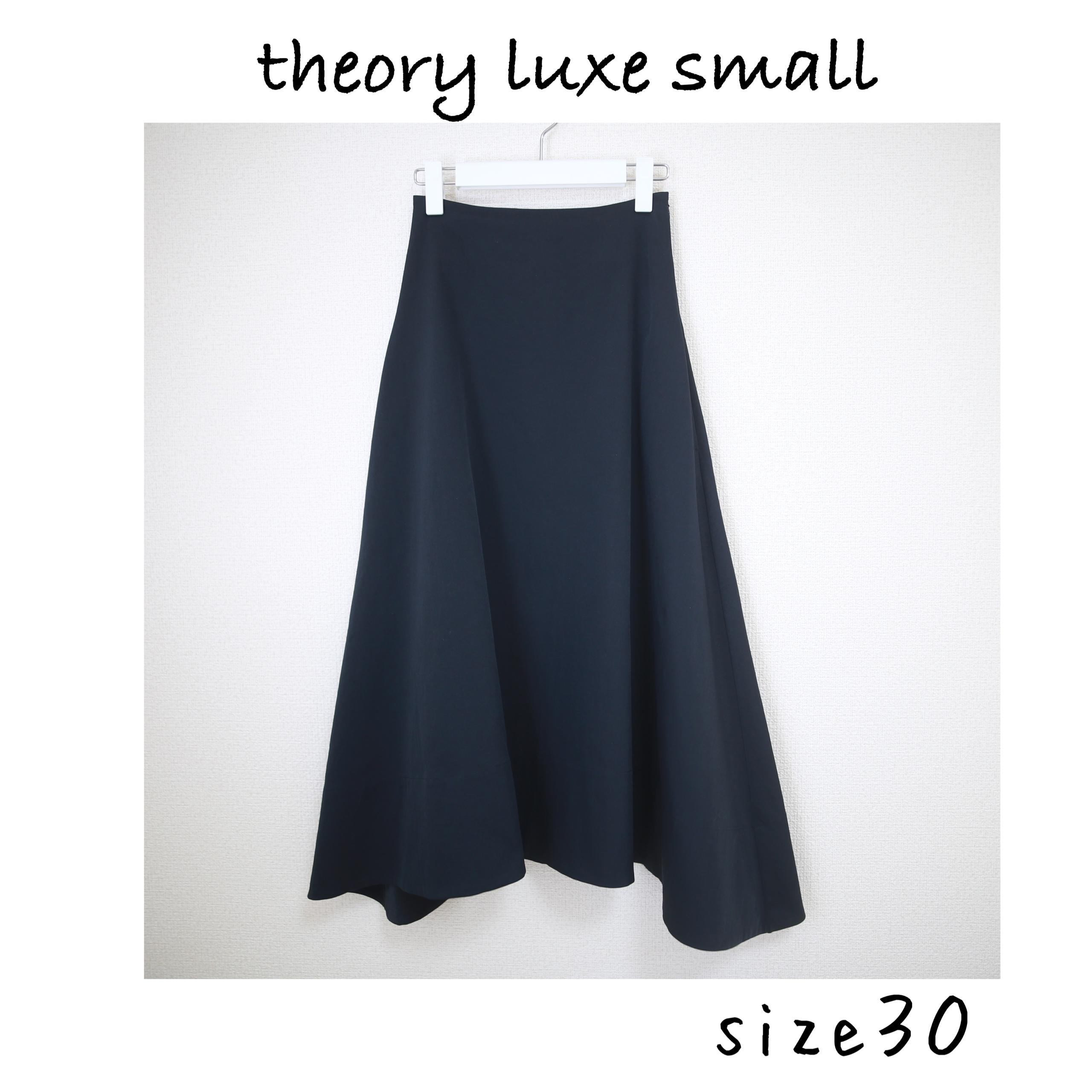 小柄 スカート theory luxe