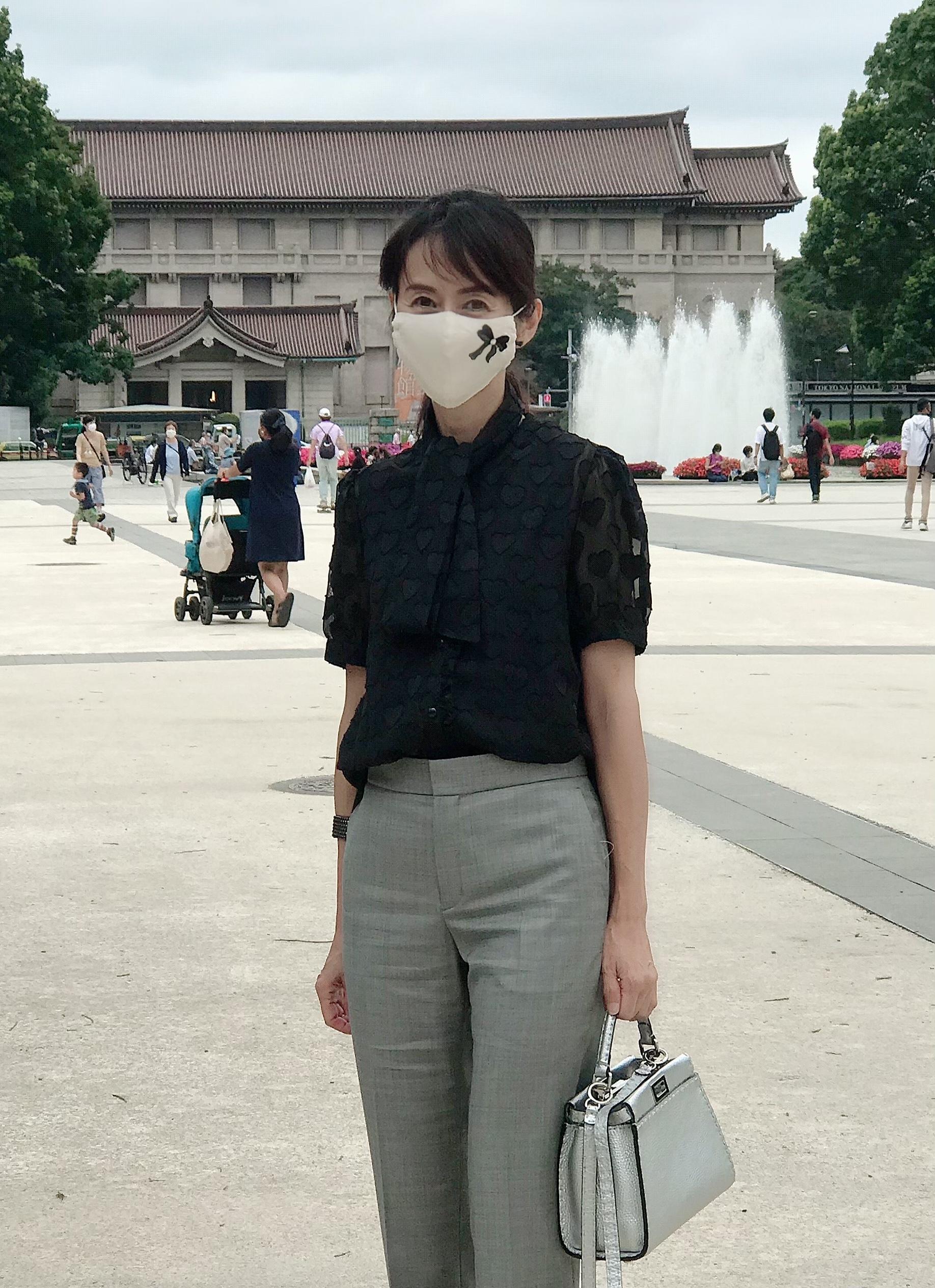 お気に入りのマスクをつけて上野へ♡_1_11