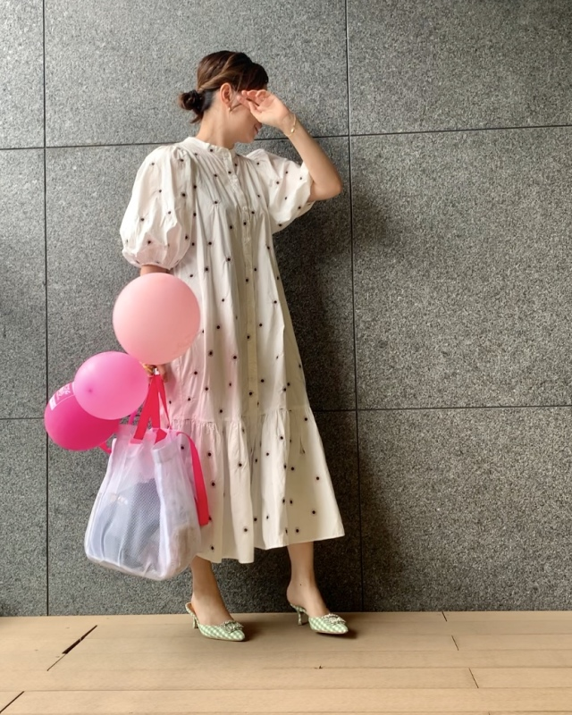 めちゃ着やすい・履きやすい・持ちやすいアイテムばかりの華やかコーデ_1_1