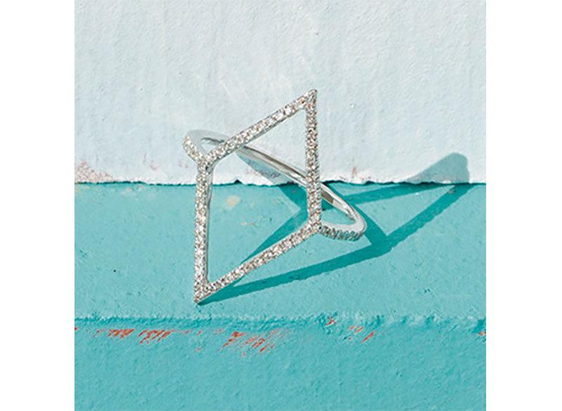装いが軽やかになるこれからの季節に。デイリー使いの「ダイヤモンド リング」_1_2-2
