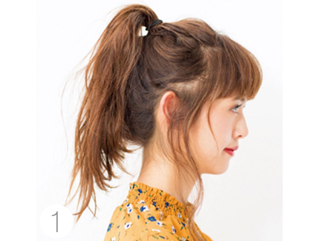 冬映え♡ ヘアアレンジ、ワンピに似合うまとめ髪をチェック!_1_2-2