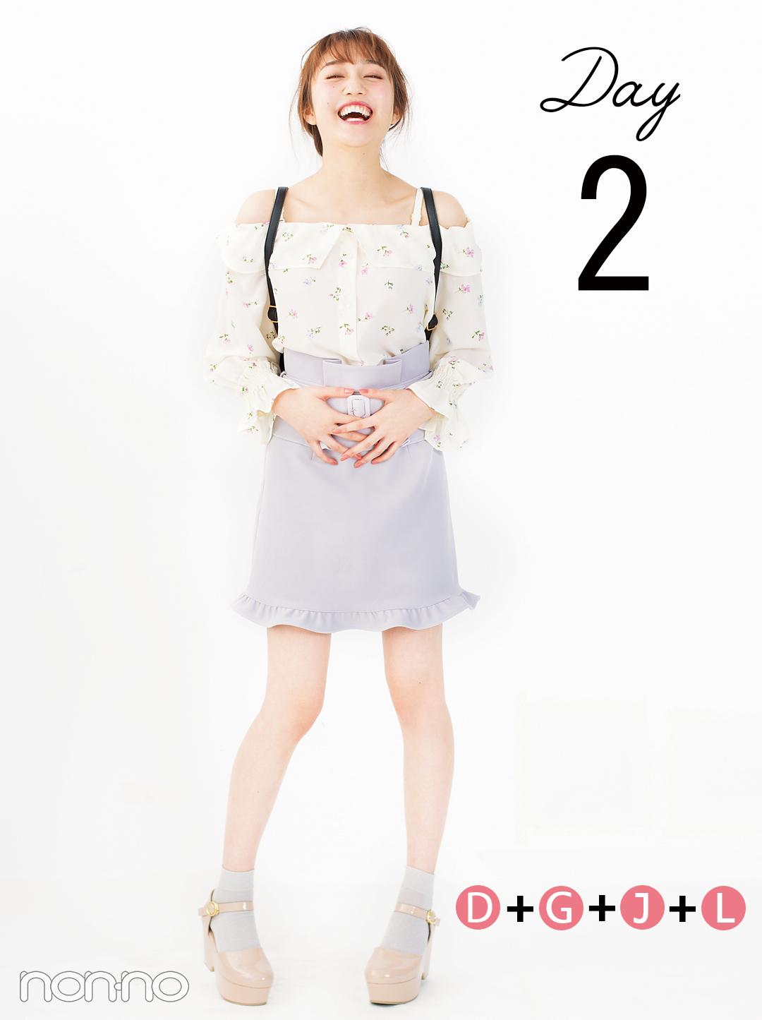 4月からいきなり都心に通学★プチプラ服でおしゃれに着回す5days【Part1】_1_4-1