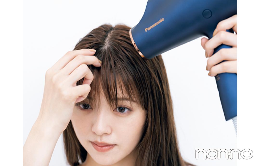 鈴木ゆうかの真夏の髪管理バイブルプロセスカット4-3