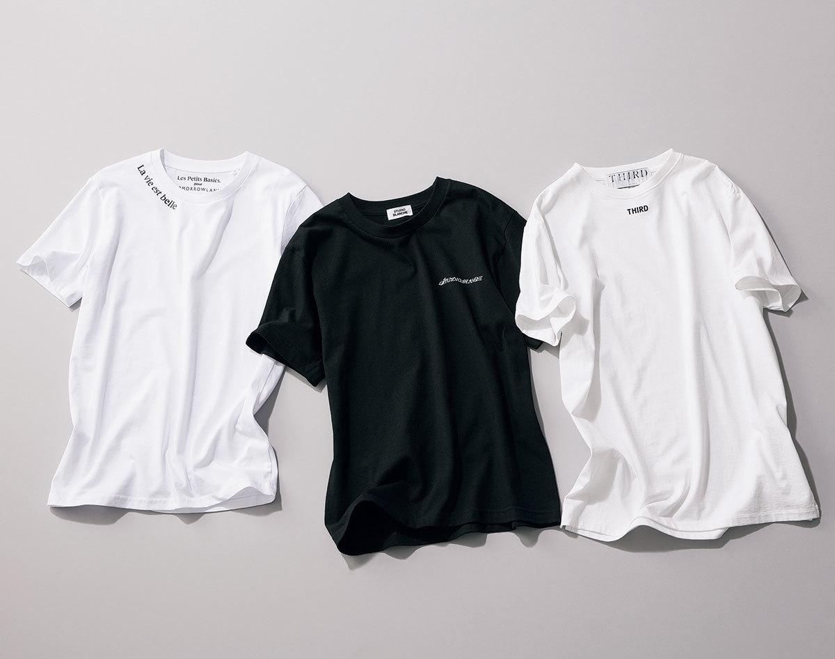 """アラフォーが今すぐ買うべき""""2021夏のトレンドTシャツ""""はこれ! 大人に似合う最旬Tシャツまとめ 40代ファッション_1_3"""