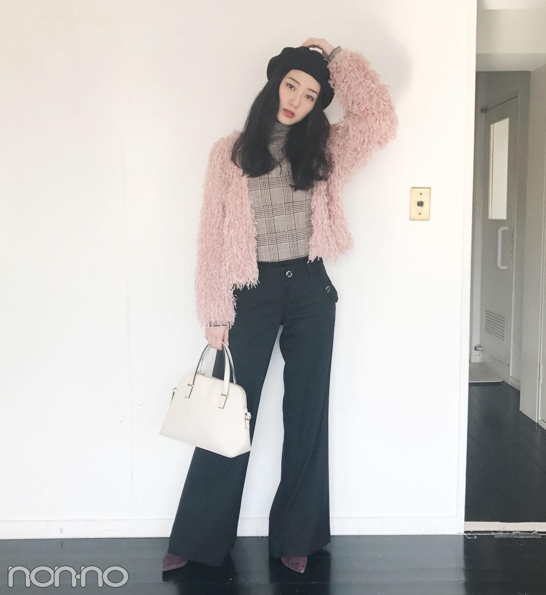 高田里穂|モデルの私服