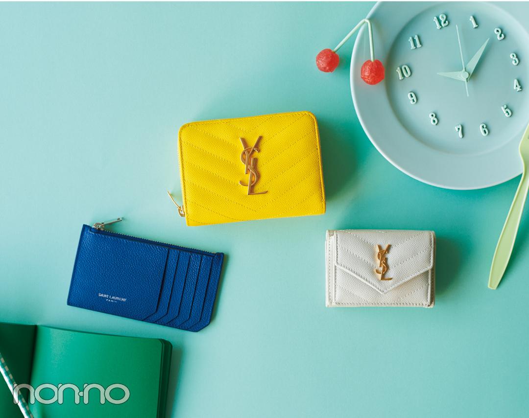 サンローランのミニ財布♡ 電子マネー時代が来る今こそ買い時!【20歳からの名品】_1_2