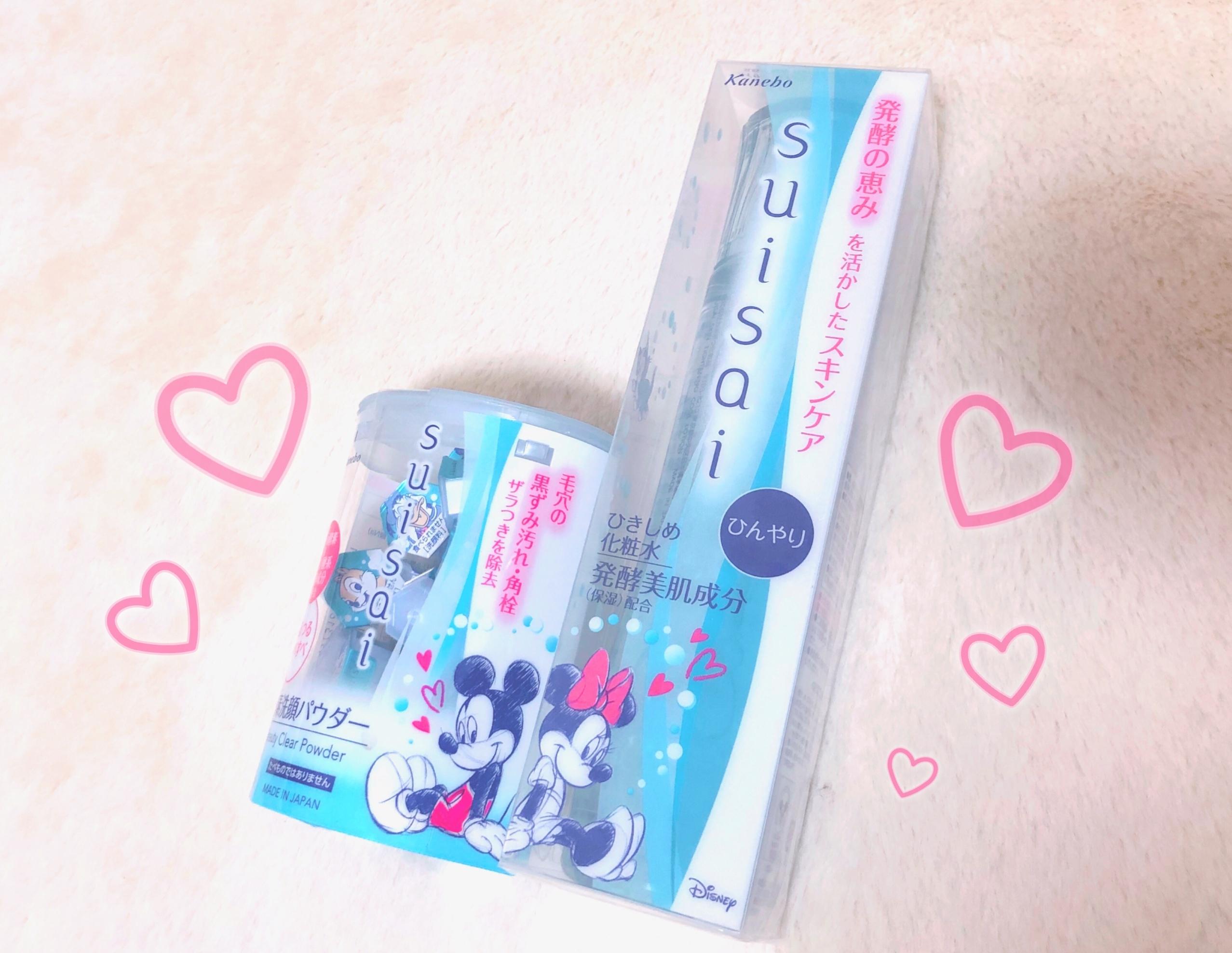 夏のスキンケアは【suisai】できまり♡かわいいディズニーデザインも!_1_1