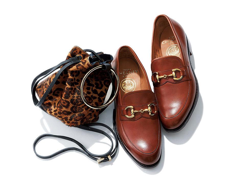 """シンプル服を""""素敵""""にまで引き上げる「靴&バッグセット」_1_1-2"""