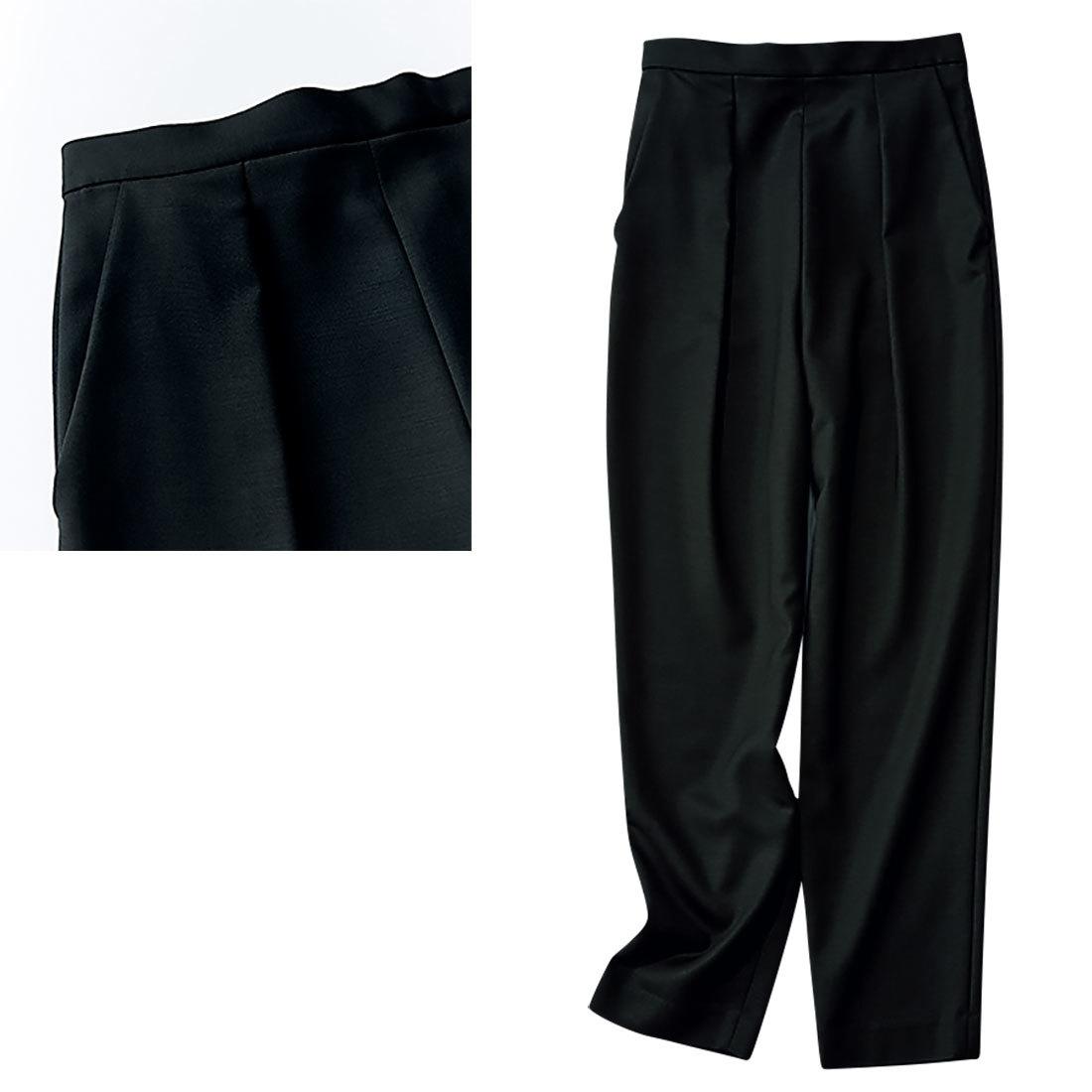 究極の 「美脚黒パンツ」1_2