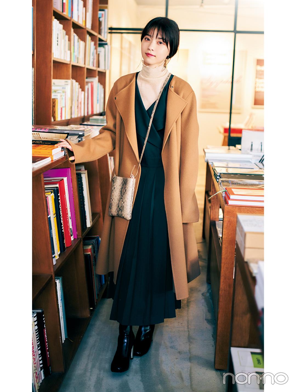 西野七瀬の冬私服♡ シックな冬配色でおしゃれのお手本!_1_2