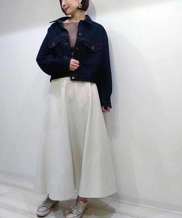 【UNIQLO U】デニムジャケットで春の大人カジュアルコーデ♡_1_2