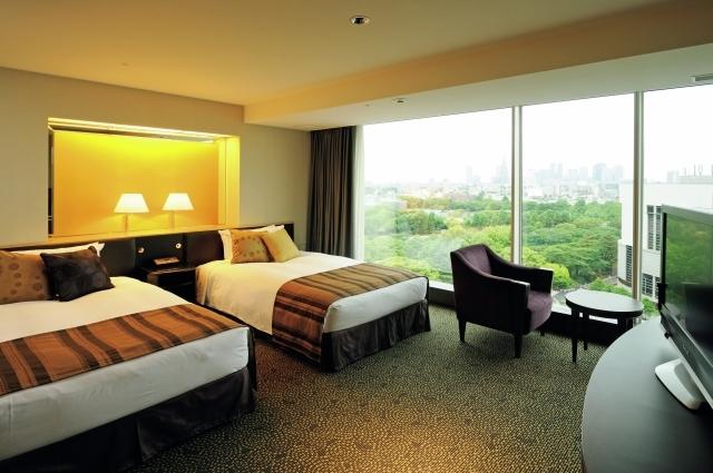 『ホテルニューオータニ』の部屋
